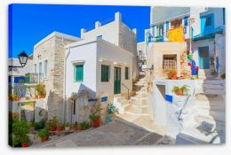 Syros island village, Greece