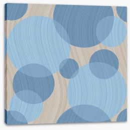 Circles of calm Stretched Canvas 52092429