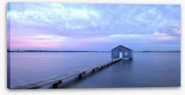 Matilda Bay boathouse Stretched Canvas 52253552