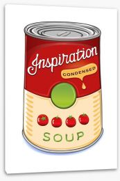 Can of tomato soup Stretched Canvas 52869011