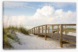 Beaches Stretched Canvas 53525706