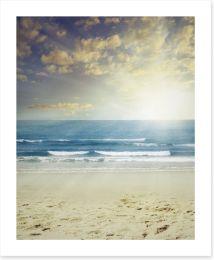 Beach light Art Print 57047605