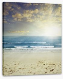 Beach light Stretched Canvas 57047605