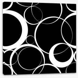 Round and round Stretched Canvas 57635302