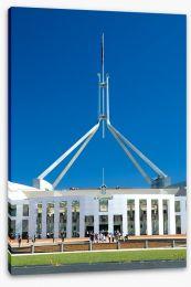 Blue sky parliament