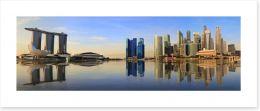 Singapore panorama skyline