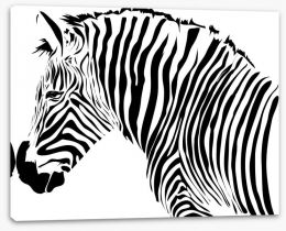 Zebra stripes Stretched Canvas 60040014