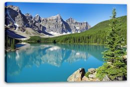 Pristine Lake Louise Stretched Canvas 61685210