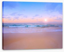 Beach Stretched Canvas 61976021