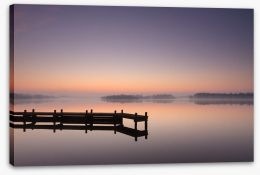 Jetty Stretched Canvas 62674580