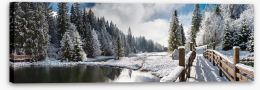 Winter Stretched Canvas 63326147