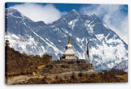 Stupa near Everest Base Camp Stretched Canvas 63938338