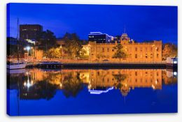 Hobart gallery reflections