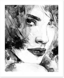 Black and White Art Print 66394587