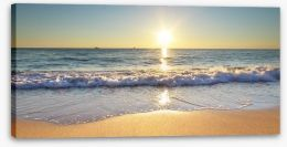 Summer at the sea Stretched Canvas 67435056