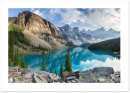 Mountains Art Print 69158438