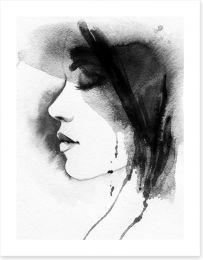 Black and White Art Print 69275550