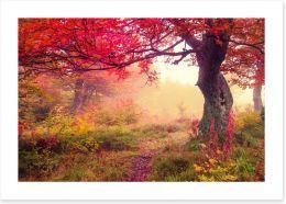 Autumn Art Print 70214313