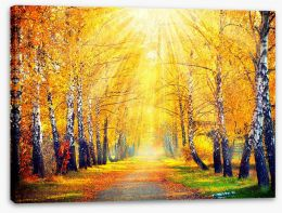 Autumn Stretched Canvas 70760699