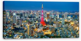 City Stretched Canvas 70928062