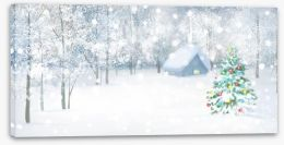 Christmas Stretched Canvas 73584284