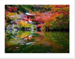 Daigoji Temple in Autumn, Kyoto