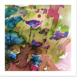 Wild cornflowers Art Print 78551795