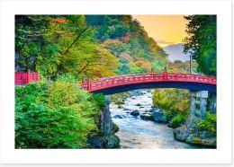 Shinkyo Sacred Bridge, Japan