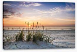 Soft evening calm Stretched Canvas 78836386