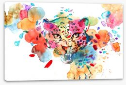 The spots off a leopard Stretched Canvas 81733386