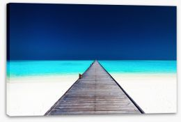 Jetty Stretched Canvas 83429553