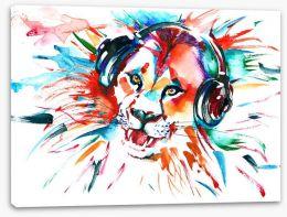 Lion rock Stretched Canvas 85090317