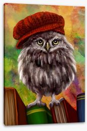 Bookish owl