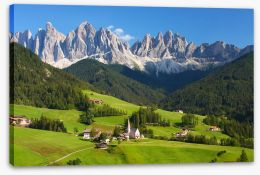 The magnificent Dolomites Stretched Canvas 86219880