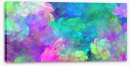 Night light Stretched Canvas 86232751