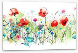 Wild poppies Stretched Canvas 87232432
