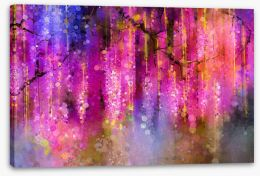 Blossom branches Stretched Canvas 87635249