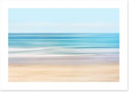 Rolling waves Art Print 93581255
