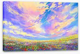 Summer skies Stretched Canvas 94844141