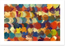 Abstract Art Print 96098107