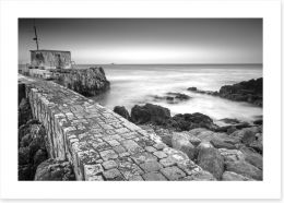 The old stone jetty
