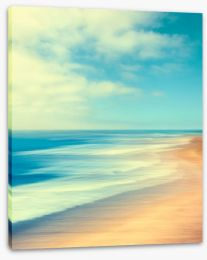Retro shores Stretched Canvas 97897119