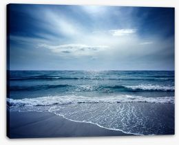 Beach Stretched Canvas 9953849