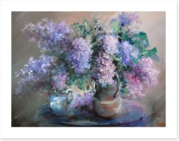 Lilac in the jugs Art Print 99821567