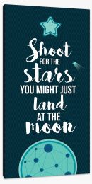 Shoot for the stars Stretched Canvas AA00028