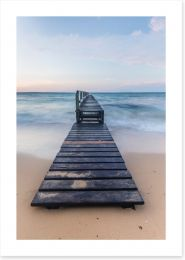 The lone jetty, Shelly Beach