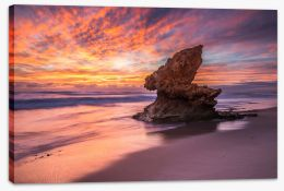 Lizard Head rock Stretched Canvas LH0028