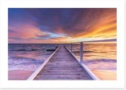 Sunrise at Sullivan Bay