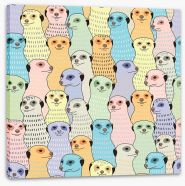 Animals Stretched Canvas 107114385