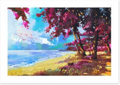 Beaches Art Print 111885382